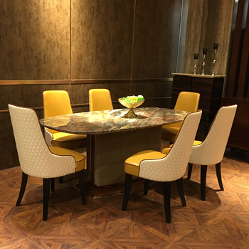 Surprising Foshan China Modern Real Leather Dining Room Chairs And Tables Buy Chairs And Tables Dining Table Dining Table Chair Product On Alibaba Com Cjindustries Chair Design For Home Cjindustriesco