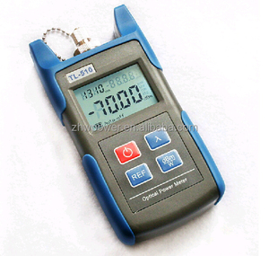 FC SC ST interface Optical Power Meter TL510 ,Mini Fiber Optical power meter with 1310/1490/1550/1625 nm