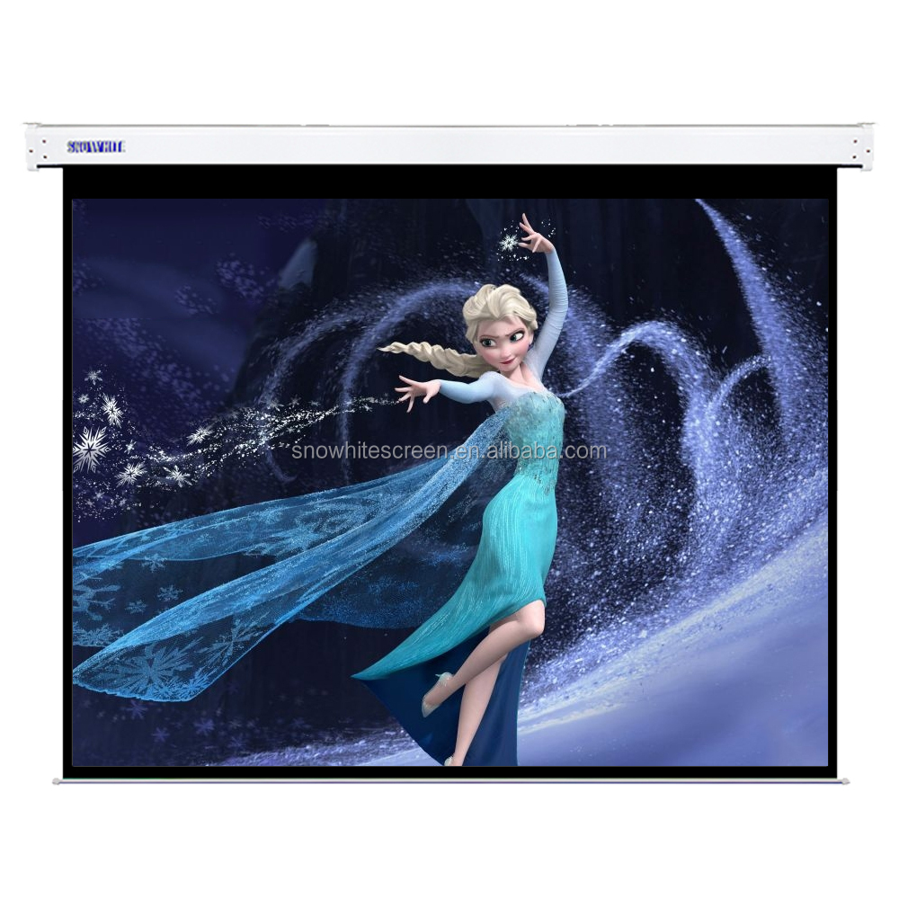 "SNOWHITE 100"" 4:3 Format SN100MEV-S-A Luxurious Cinema Theatre Custom Motorized Projection Screen"
