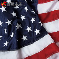 20-years Factory High Quality Custom Embroidered National US Flags
