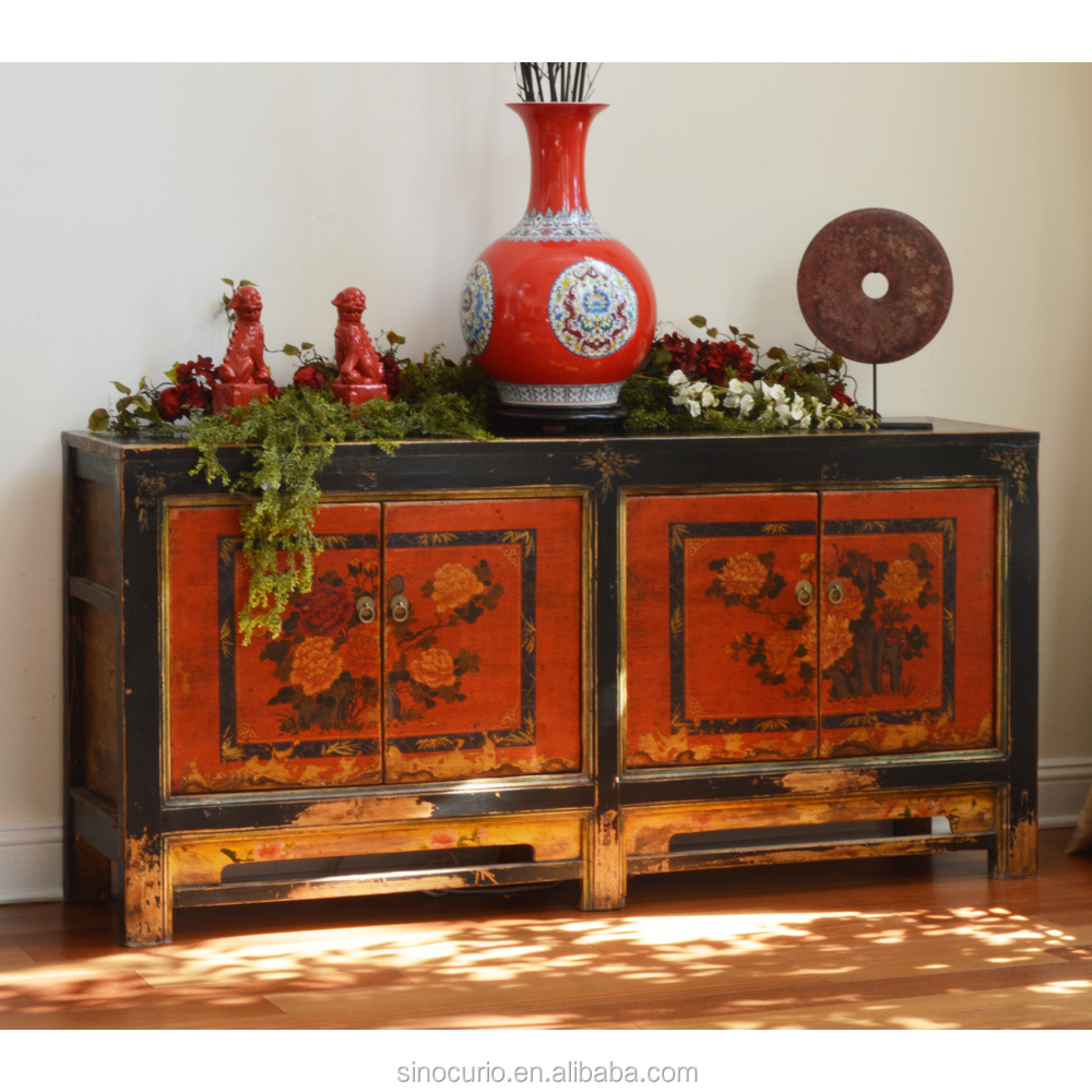 Chinese antique hand painted furniture