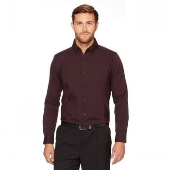 6b94a4ac7 2014 Estilo Formal Marrón 100% Cutton Moda Ropa Para Hombre - Buy Camisa De  Algodón Elegante Para Los Hombres,Camisas De Algodón,Fresco Algodón ...