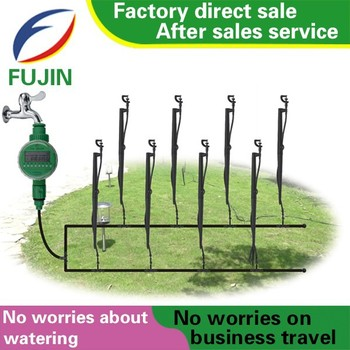 Diy Micro Drip Spray Irrigation System Auto Garden Watering