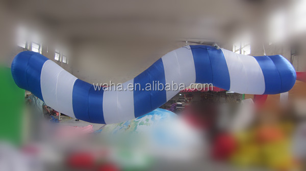 2015 Hot-selling cheap custom inflatable long tube for decoration