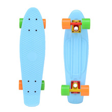 3.25inch printed colorful truck and wheels 22inch skateboards
