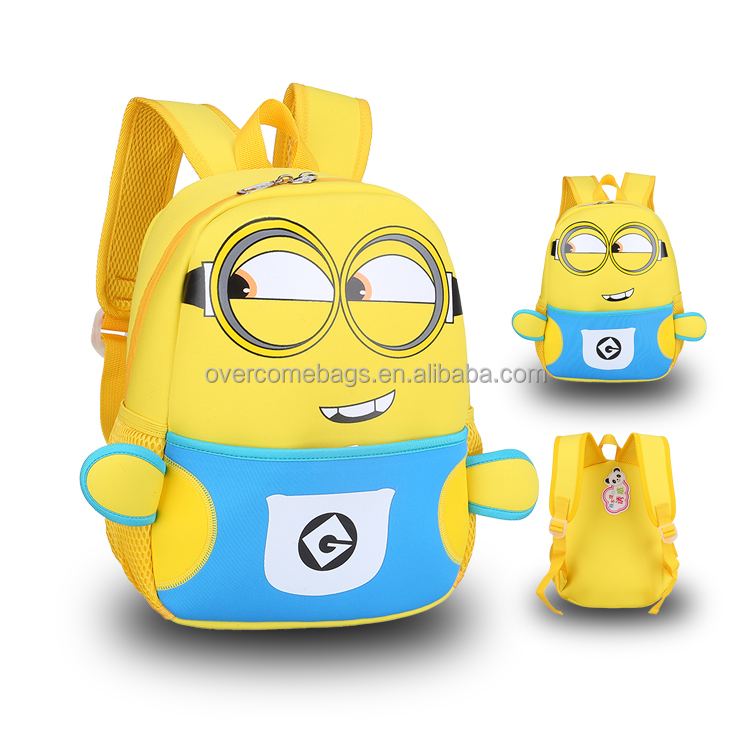 Popular kids rucksack 3d backpacks for children