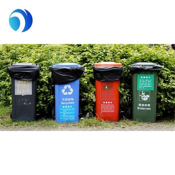 Extra Strong Recyclable Garbage Bin Trash Bag In The Cartoon Liner Plastic Product On