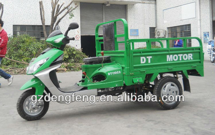 2013 year guangzhou factory new model 110 cc air cooled engine three wheel lady of tricycle