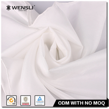 Long Lady Mature Hand Painted 100% Silk Scarf White Habotai 8mm Hand Rolled Edged Scarves Plain White Scarf for Painting