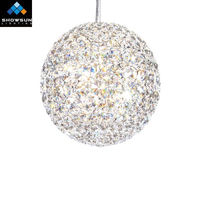 zhongshan decorative crystal ball for chandelier