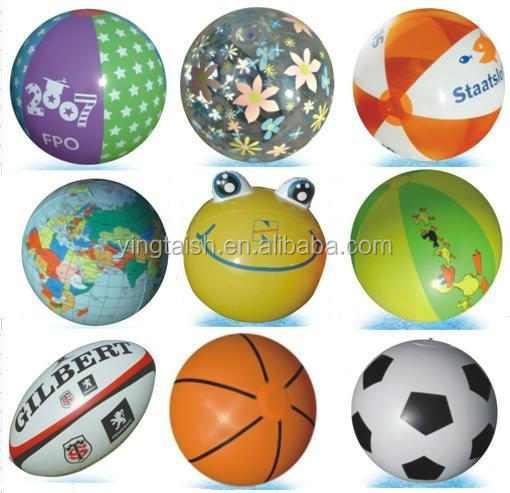 Promotional Gifts Custom PVC Inflatable beach ball with logo printing
