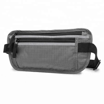 Outdoor Sports Travel Waterproof Nylon Waist Bag Money Pouch With Light Weight Easy Carry