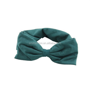2015 latest hot selling fashion bow baby head band