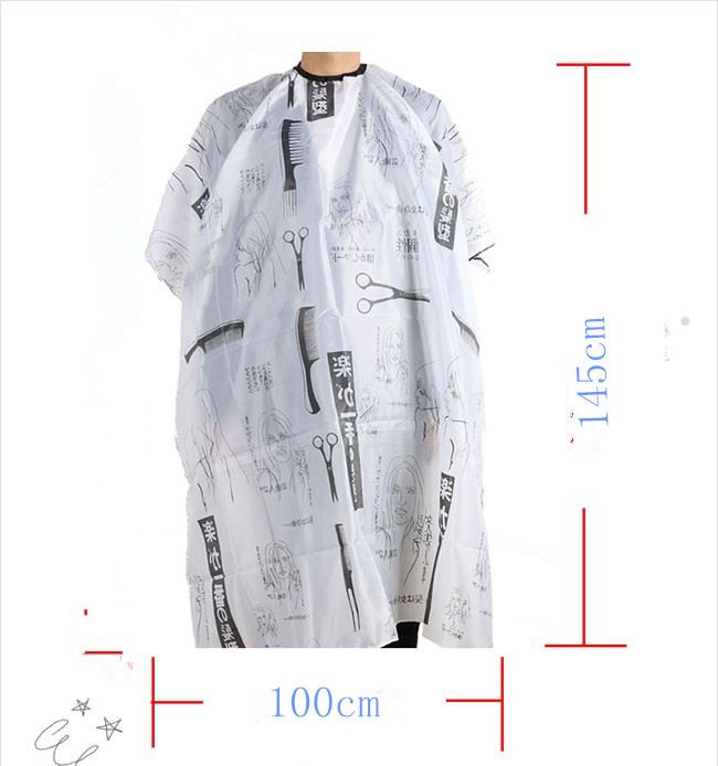 Professional high quality waterproof customized hairdresser cutting cape