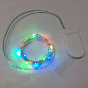 20L CR2032 button battery copper wire lighting Christmas LED fairy string lights