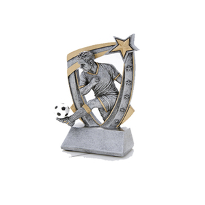 New promotion metal and resin trophy Customized