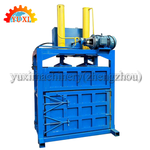 new design hydraulic vertical waste cardboard box packing baler/scrap paper baling machine/carton compress baler machine