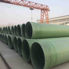 Automatic Controlled FRP GRP Fiber Glass Filament Plastic Factory Flexible Irrigation Pipe