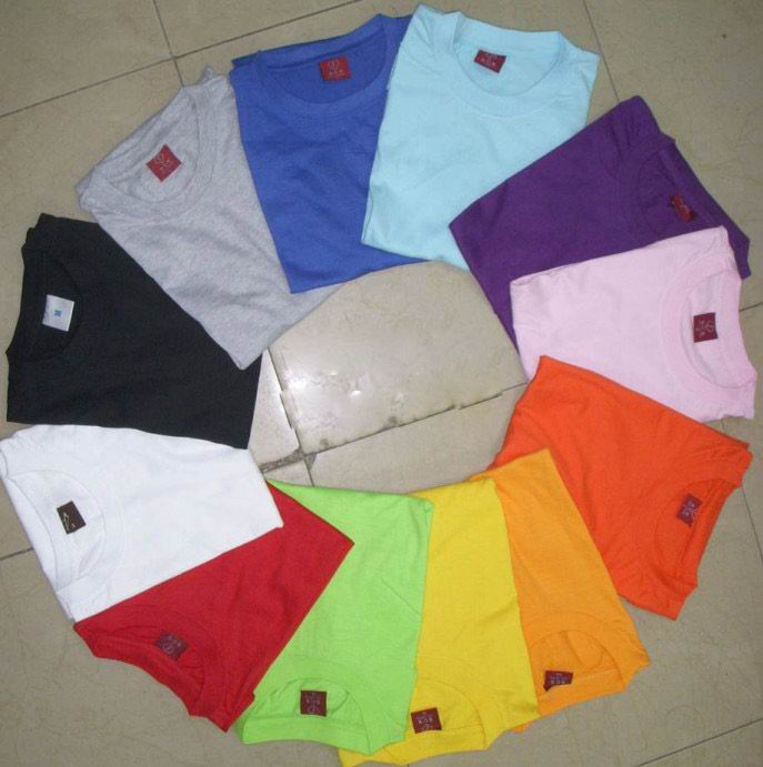 100 cotton t-shirts , comfortable and soft hand t-shirts, casual plain tshirts