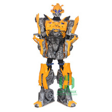 Transformers Robot cosplay bumble bee per il partito, formato transformers bumble bee 3D umani cubo indossabile per adulti