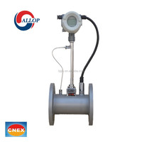 smart digital gas vortex magnetic flow meter price