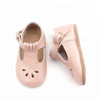 Lovely Soft Soles Newborn Leather Baby Girl Shoes