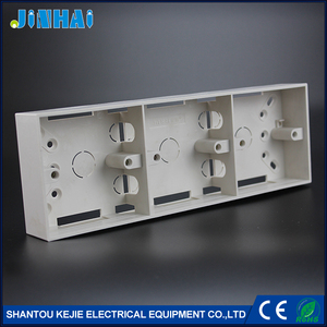 3 Gang ABS Surface Type Electrical Switch Box