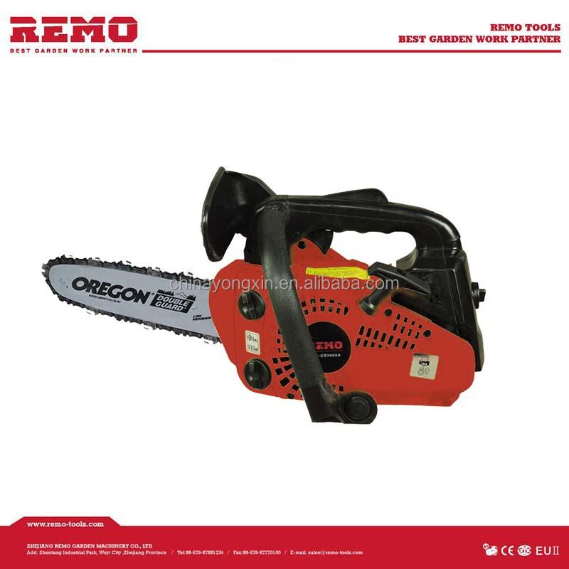 Cc gasoline mini chain saw wood tree cutting machine is