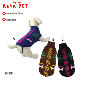 Factory Supplier Pet Clothes Dog Apparel Dress Christmas