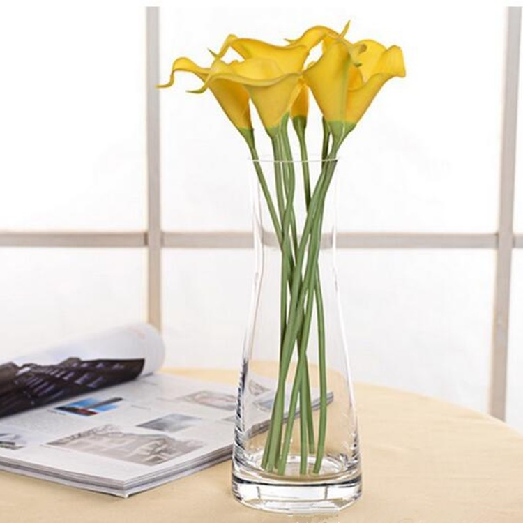 Wholesale crystal long stem vase for wedding table