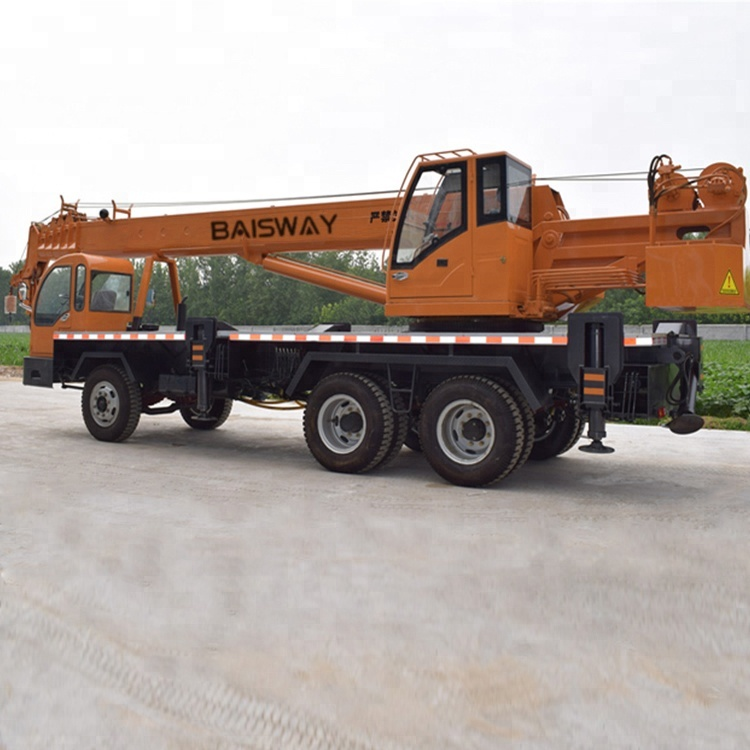 High Quality hydraulic crane 10 ton mobile truck crane for construction project