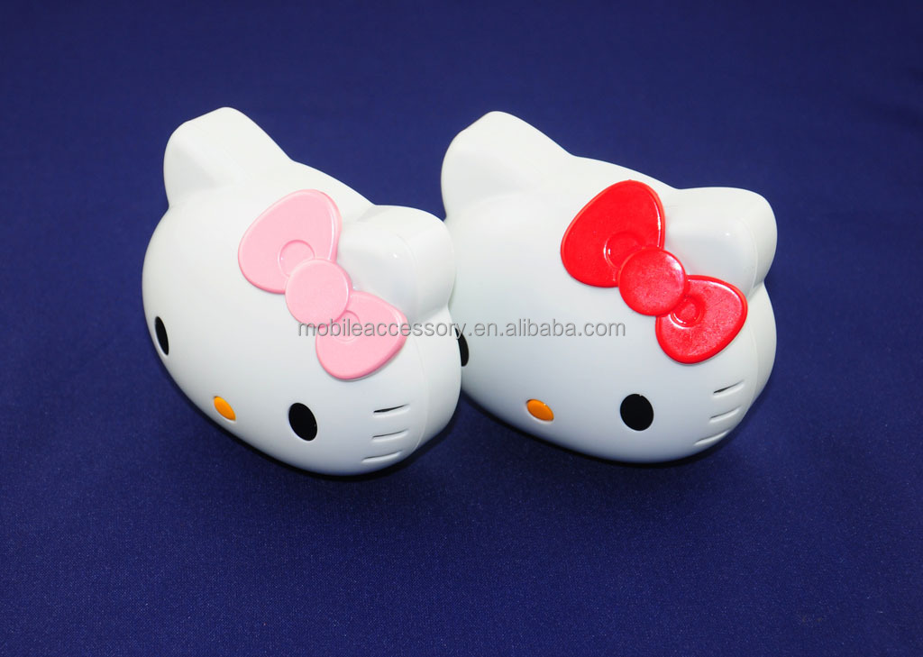 hello kitty power bank with battery indicator