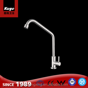 Outside Inside Use Stainless Steel Kitchen Water Faucet And Bathroom