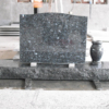 High Quality Blue Granite Tombstone, Granite Tombstone Engraving^