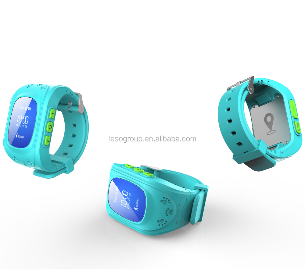 gps tracker bracelet or wristband for children with