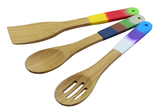 Hot Design Silicone Dining Kitchen Utensil Sets Buy Bamboo Utensils Set Silicone Kitchen