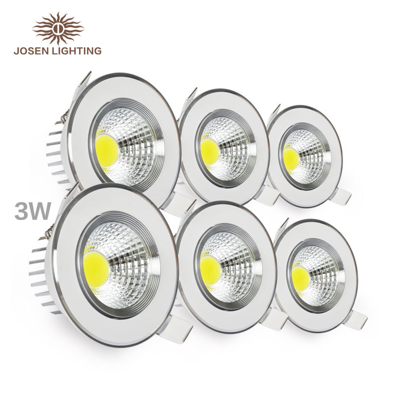 2015 New arrival Hot sale led downlight genuine aluminum material cob downlight with high quality led bulb 30000hours 3w 5w 7w 9