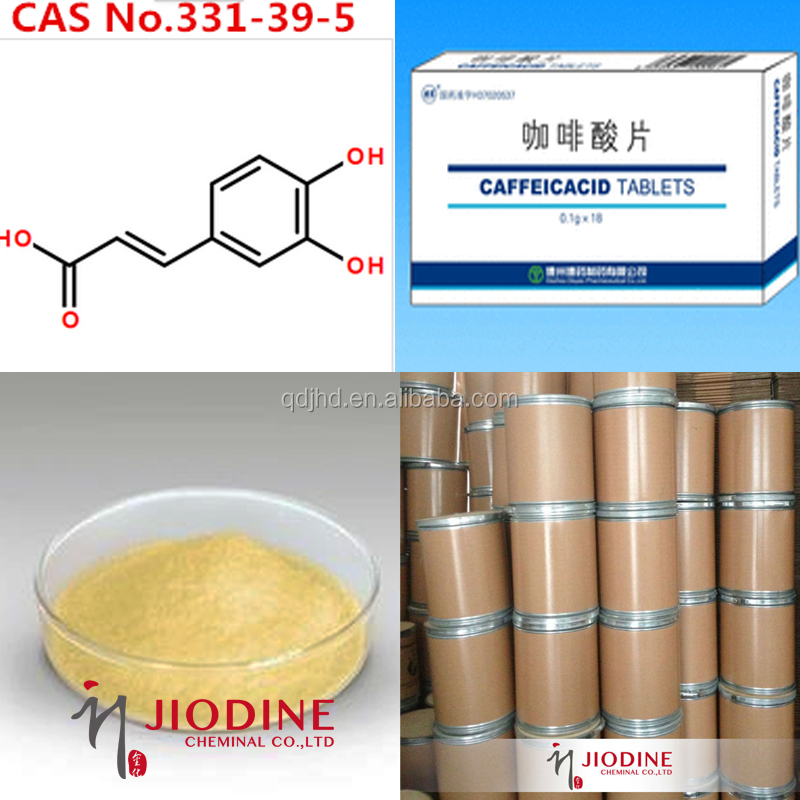 Cas 331-39-5 Caffeic Acid 99%min Pharmaceutical Chemicals
