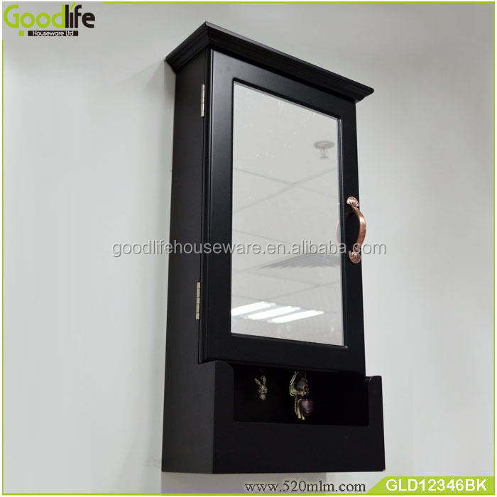 Wholesale Wall Hanging Wooden Key Storage Cabinet With