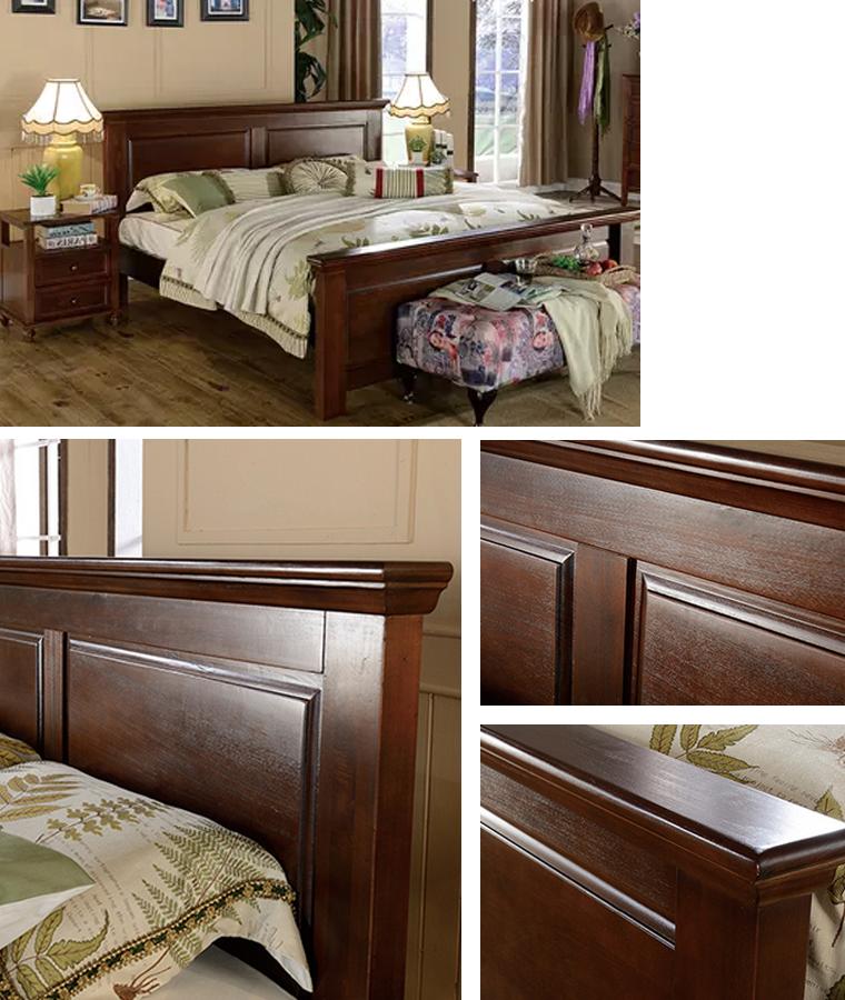Camas de madera de teca modelos buy cama de madera - Modelo de camas ...