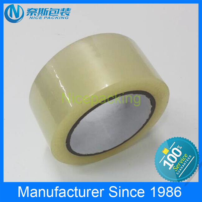 China manafacture bopp adhesive tappe with company logo for carton packing