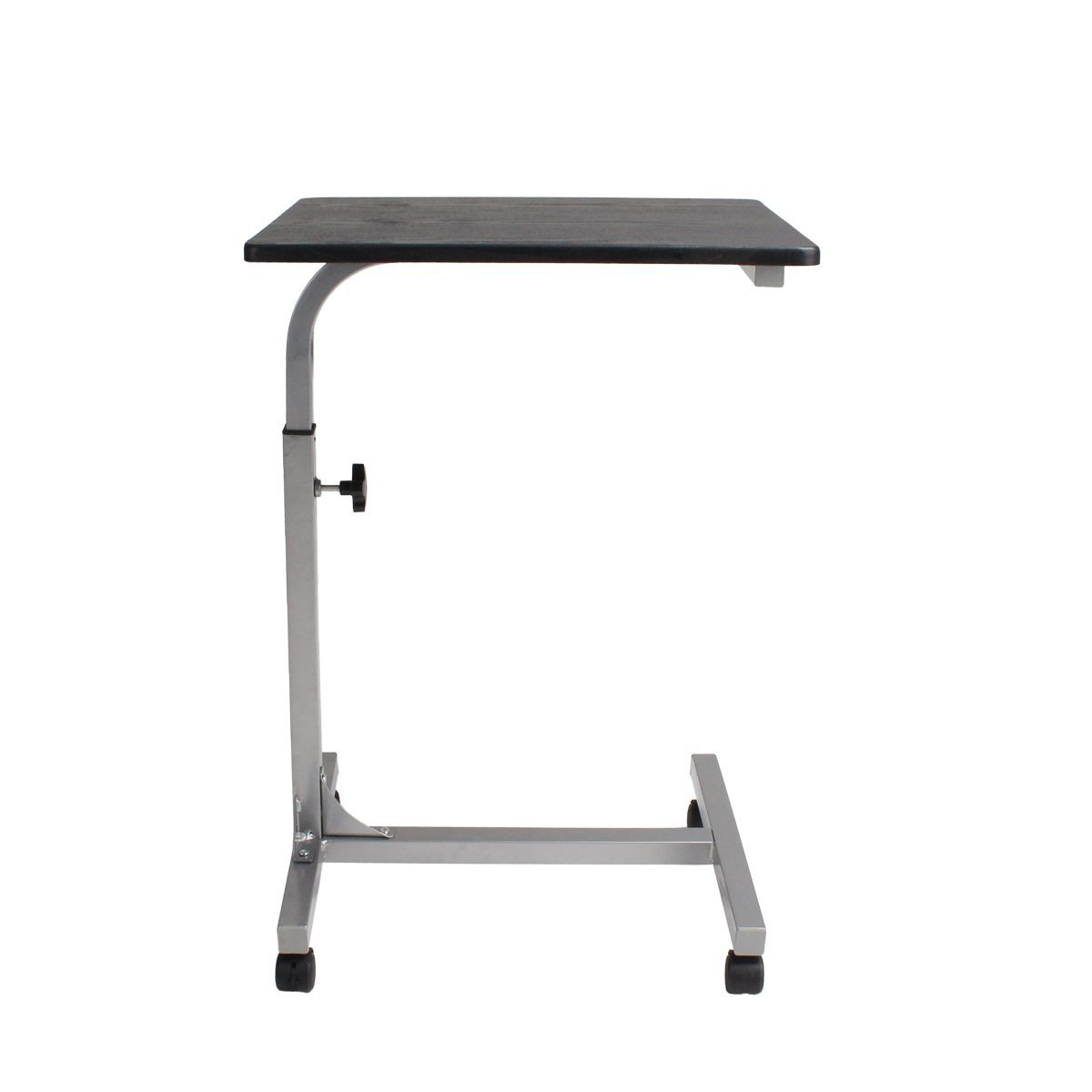 LQZ(TM) Height Adjustable Computer Desk Cart Stand Laptop Table L18.89-W14.56-H27.55 To 32.08-Inch
