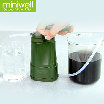 miniwell water filter for road trip