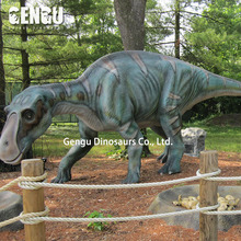 Amusement park handmade animatronic maiasaura for sale