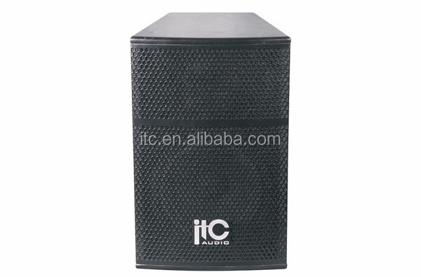 "ITC TS-8 200W 8 ohm 8"" and 3"" Conference Room Sound System Speaker"