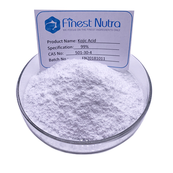 Cosmetic Raw Material for Whitening Kojic acid 99% powder