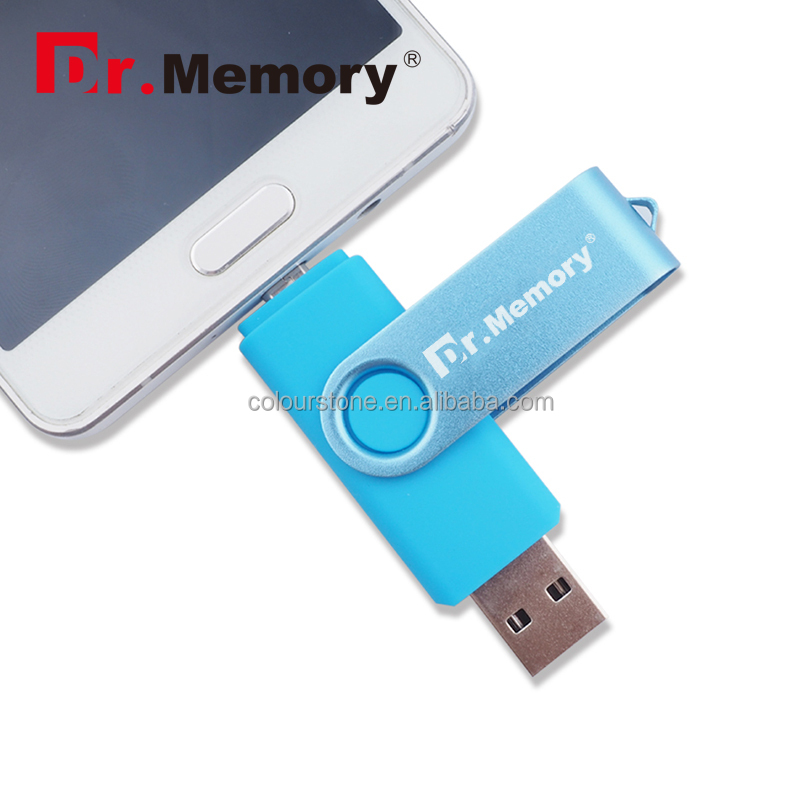 Wholesale Factory Price 8GB 16GB OTG USB Flash Drive for Android & PC 1TB OTG USB Stick Swivel USB Flash Memory 3.0
