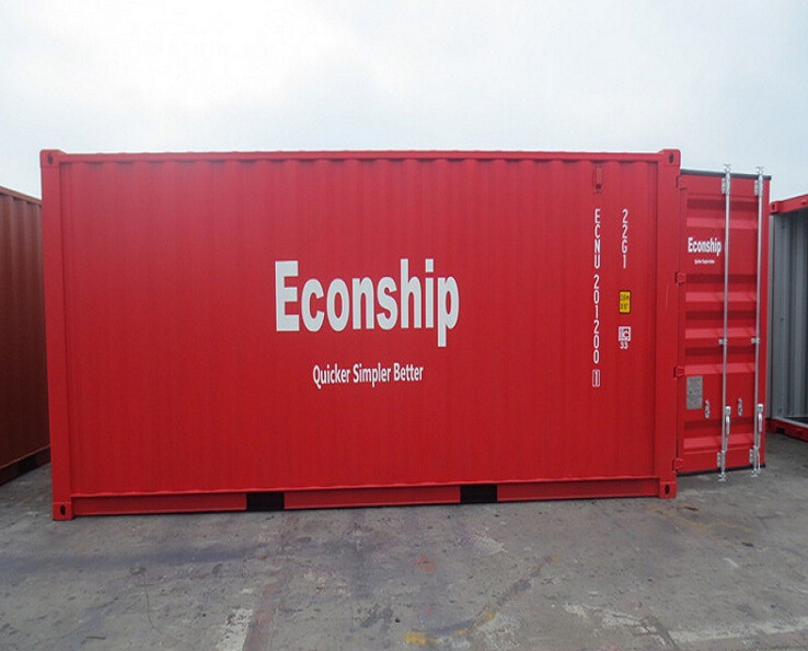 Portable used 20ft parts and material shipping/strorage containers