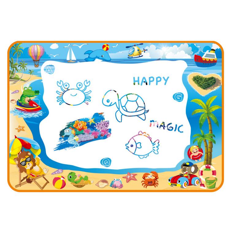 2020 new educational aqua magic mat funny water drawing mat set recycle doodle mat for kids 100*70 cm/ 120*90cm /150*100 cm