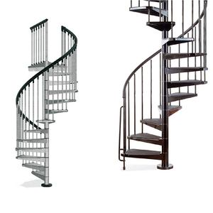 China factory metal spiral stairs/cast iron used spiral staircase design